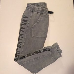Boys gray size 9 sweat pants